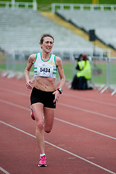 Sheffield Half Marathon First female runner Sunday Morning..12 May 2013.Image © Paul David Drabble