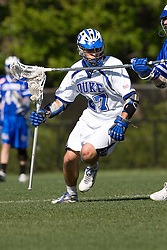 06 May 2007: Duke Blue Devils midfielder Michael Young (27) during a 19-6 victory over the Air Force Falcons at Koskinen Stadium in Durham, NC.