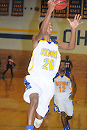 Oxford High's Dexter Toney (20) vs. Grenada in boys high school basketball action in Oxford, Miss. on Thursday, November 8, 2012. Grenada won 68-55. OHS is now 0-2.