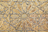 Door detail of the Royal Palace in Fès, Morocco.