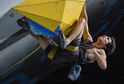 09.09.2018, Kletterzentrum, Innsbruck, AUT, IFSC, Kletter WM Innsbruck 2018, Halbfinale, Herren, Vorstieg, im Bild Sean Bailey (USA) // Sean Bailey of the USA during Semi-Finals of Men Lead for the IFSC Climbing World Championships 2018 at the Kletterzentrum in Innsbruck, Austria on 2018/09/09. EXPA Pictures © 2018, PhotoCredit: EXPA/ Erich Spiess