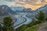 Aletsch glacier Wallis