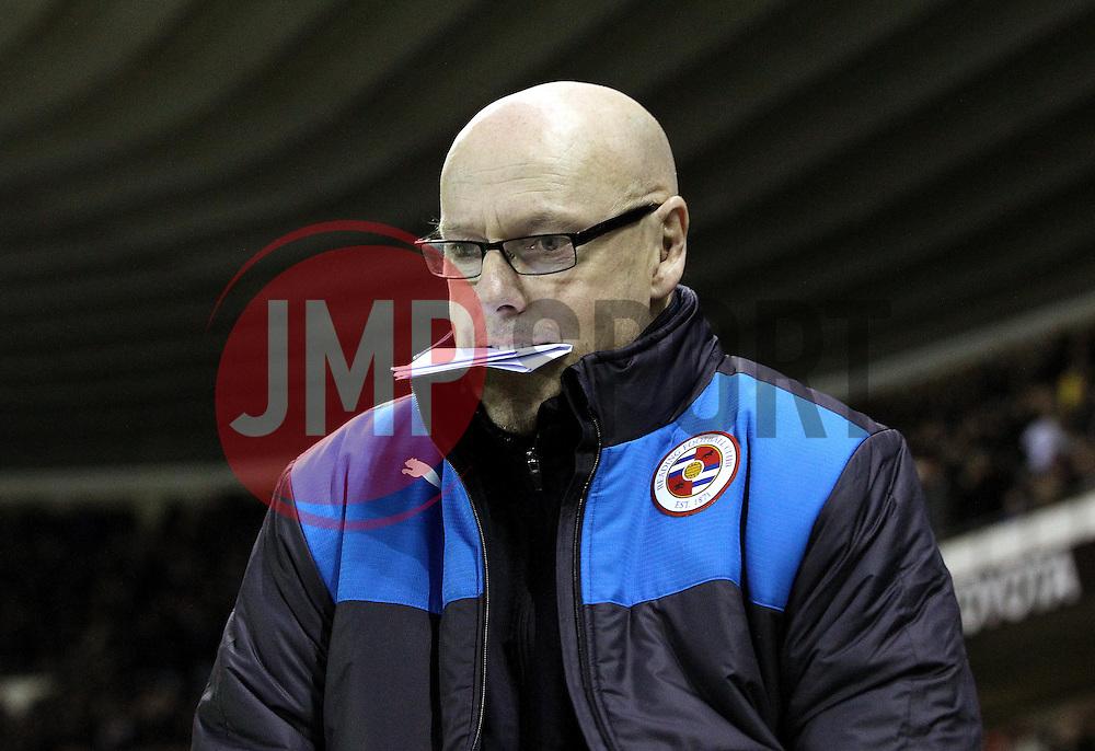 Reading Manager Brian McDermott - Mandatory byline: Robbie Stephenson/JMP - 12/01/2016 - FOOTBALL - iPro Stadium - Derby, England - Derby County v Reading - Sky Bet Championship