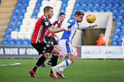 Colchester United midfielder Sammie Szmodics (10) controls the ball during the EFL Sky Bet League 2 match between Colchester United and Morecambe at the JobServe Community Stadium, Colchester, England on 29 December 2018.