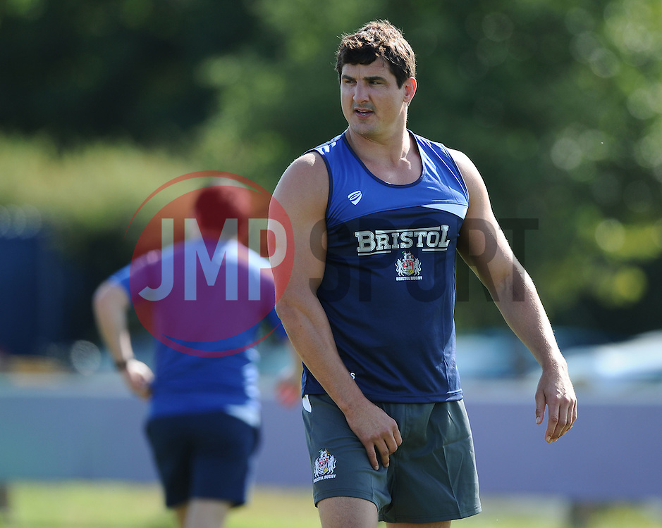 Bristol Rugby Second Row Mark Sorenson  - Photo mandatory by-line: Joe Meredith/JMP - Mobile: 07966 386802 - 03/07/2015 - SPORT - Rugby - Bristol - Bristol Rugby Training Ground - Bristol Rugby Pre-Season Training