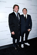 Bradley Cooper and David O'Russell attend the National Board of Review Awards Gala at Cipriani 42nd St in New York City, New York on January 08, 2013.