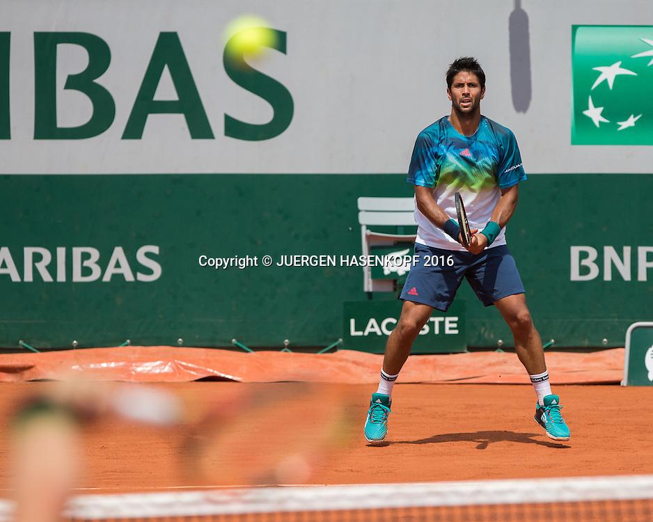Fernando Verdasco (ESP)<br /> <br /> Tennis - French Open 2016 - Grand Slam ITF / ATP / WTA -  Roland Garros - Paris -  - France  - 27 May 2016.