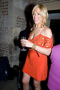 Hannah Waddingham, A little Night Music press night. Garrick Theatre and afterwards at CafŽ in The Crypt, St Martin-in-the-Field. London. 7 April 2009<br /> Hannah Waddingham, A little Night Music press night. Garrick Theatre and afterwards at Café in The Crypt, St Martin-in-the-Field. London. 7 April 2009