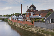 Lewes, East Susex, England, Uk, May 5 2019 - Harvey's Brewery in Lewes, county town of East Sussex.