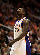Oct. 29 2010; Phoenix, AZ, USA; Phoenix Suns guard Jason Richardson (23) reacts on the court against the Phoenix Suns during the second half at the US Airways Center. The Lakers defeated the Suns 114-106.  Mandatory Credit: Jennifer Stewart-US PRESSWIRE.