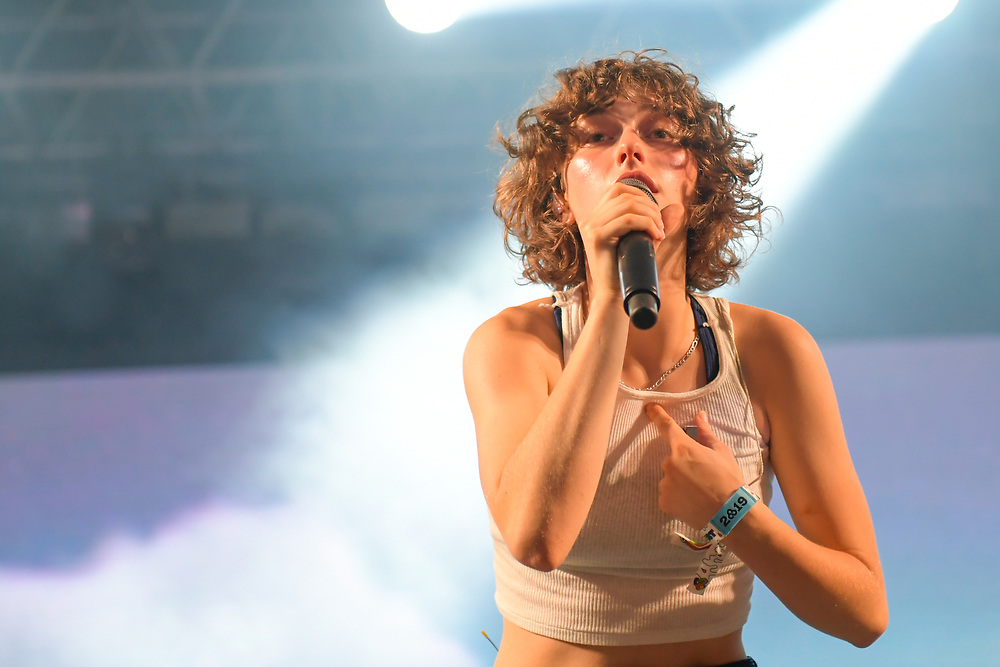MANCHESTER, TENNESSEE - JUNE 16: King Princess performs onstage at This Tent during the 2019 Bonnaroo Arts And Music Festival on June 16, 2019 in Manchester, Tennessee.