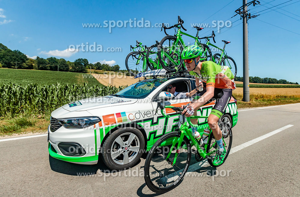 05.07.2017, Altheim, AUT, Ö-Tour, Österreich Radrundfahrt 2017, 3. Etappe von Wieselburg nach Altheim (226,2km), im Bild Oscar Gatto (ITA, Astana Pro Team) // Oscar Gatto (ITA, Astana Pro Team) during the 3rd stage from Wieselburg to Altheim (199,6km) of 2017 Tour of Austria. Altheim, Austria on 2017/07/05. EXPA Pictures © 2017, PhotoCredit: EXPA/ JFK