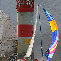 DEBONAIR, The Needles, Round the Island Race, 2013,Isle of Wight, UK, Sports Photography