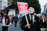 National Gaza Demonstration - 9 August
