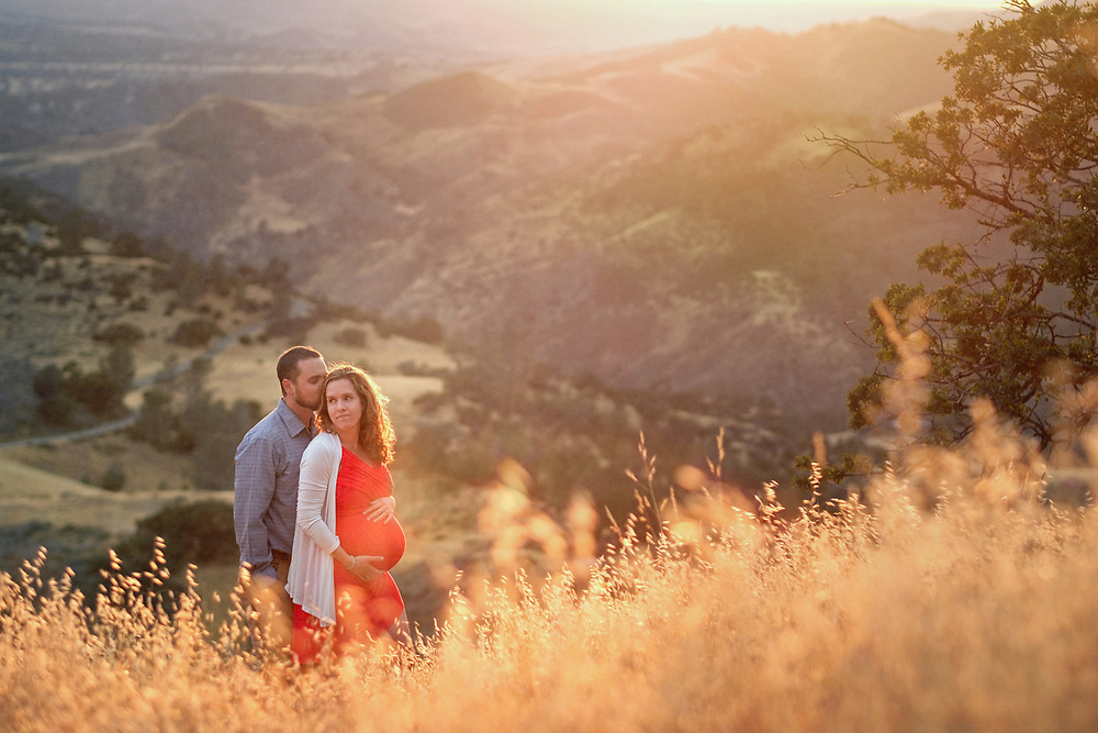Maternity shoot in Los Olivos by Los Olivos photographer Michelle Turner.