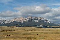 Sawtooth Ridge, Rocky Mountain front ranges near Augusta Montana