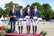 Podium Dressage Ponies The Netherlands<br /> FEI European Championships Ponies 2016<br /> © DigiShots