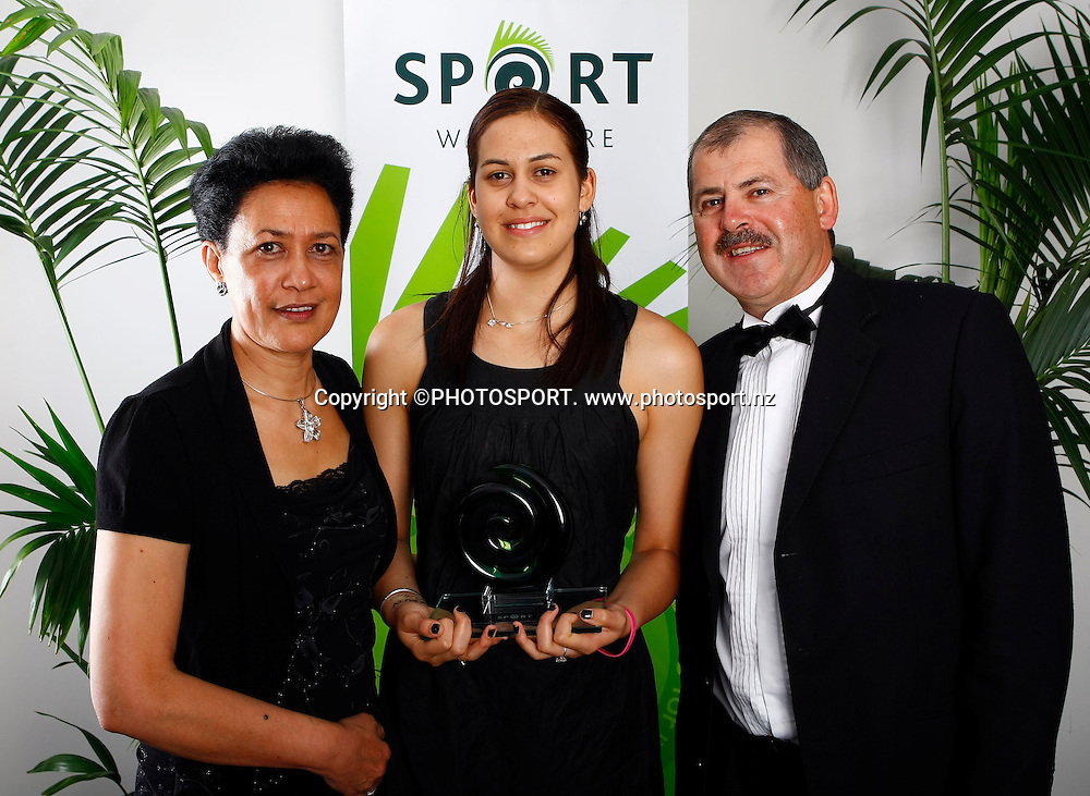 Pacific Island Achievement in Sport Award winner Paual Griffin. The Unitec Waitakere Sporting Excellence Awards & Dinner 2008. Trusts Stadium, Waitakere, Auckland, New Zealand.14 November 2008. Photo: Simon Watts/PHOTOSPORT