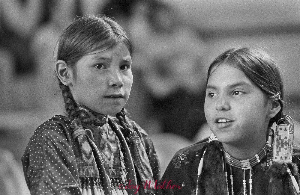 Native American members of the Denver chapter of White Buffalo Council held a pow-wow at the Jefferson County Fairgrounds.<br /> The event was a regular occurrence, this one was in 1976. One year later an agreement was reached with the City of Denver for a permanent site to host Native American gatherings, the Tall Bull Memorial Grounds near Daniels Park.