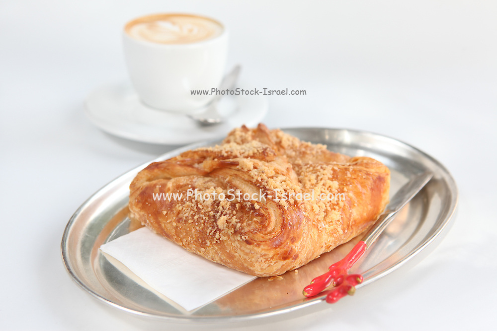 Apple Pastry with a cup of coffee