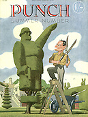 PUNCH 1940s Front Cover Cartoons
