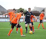 Dundee's Josh Skelly tries to find a way through a packed Dundee United defence - Dundee v Dundee United under 20s<br /> <br />  - &copy; David Young - www.davidyoungphoto.co.uk - email: davidyoungphoto@gmail.com