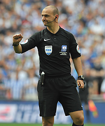 BOBBY MADLEY REFREE,  Hull City v Sheffield Wednesday Sky Bet Championship Play-Off Final, Wembley Stadium Saturday  28th May 2016.<br /> Photo:Mike Capps
