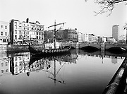 As part of the Millennium celebrations in Dublin, a Viking longboat sailed up the Liffey and moored at O'Connell Bridge. The finding of the Viking settlement at Wood Quay shows the depth of Dublin's Viking heritage.<br />