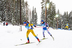 March 10, 2019 - –Stersund, Sweden - 190310 Linn Persson of Sweden during the Women's 10 km Pursuit during the IBU World Championships Biathlon on March 10, 2019 in Östersund..Photo: Petter Arvidson / BILDBYRÃ…N / kod PA / 92254 (Credit Image: © Petter Arvidson/Bildbyran via ZUMA Press)