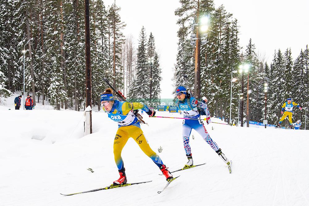 March 10, 2019 - –Stersund, Sweden - 190310 Linn Persson of Sweden during the Women's 10 km Pursuit during the IBU World Championships Biathlon on March 10, 2019 in Östersund..Photo: Petter Arvidson / BILDBYRÃ…N / kod PA / 92254 (Credit Image: © Petter Arvidson/Bildbyran via ZUMA Press)