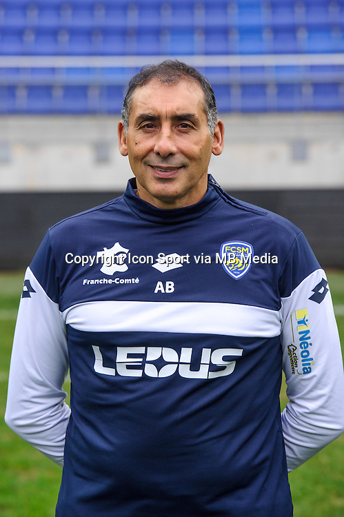 Aziz Bouras - 03.11.2015 - Portrait Officiel Sochaux <br /> Photo : Sebastien Bozon / Icon Sport