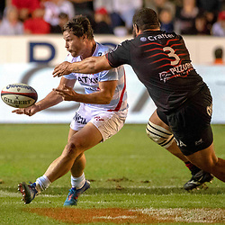 Henry Chavancy of Racing 92 during Top 14 match between Toulon and Racing 92 on August 25, 2018 in Toulon, France. (Photo by Henri/Icon Sport)