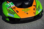 January 4, 5, 6, 2019. IMSA Weathertech Series ROAR test. #11 GRT Grasser Racing Team Lamborghini Huracan GT3, Orange 1 Racing, GTD: Mirko Bortolotti, Christian Engelhart, Kang Ling Rolf Ineichen