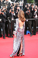 Elsa Zylberstein at the On The Road gala screening red carpet at the 65th Cannes Film Festival France. The film is based on the book of the same name by beat writer Jack Kerouak and directed by Walter Salles. Wednesday 23rd May 2012 in Cannes Film Festival, France.