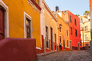 Old World Charm in City of Guanajuato, Central Mexico