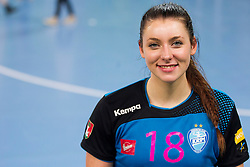 Nina Zulic of RK Krim Mercator after handball match between RK Krim Mercator (SLO) and HCM Baia Mare (ROM) in 1st Round of Women's EHF Champions League 2015/16, on October 16, 2015 in Arena Stozice, Ljubljana, Slovenia. Photo by Urban Urbanc / Sportida