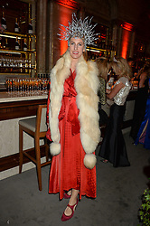 SUSANNA WARREN at the Tatle Magazine's Kings & Quens party held at Savini at Criterion, Piccadilly, London on 1st June 2016.