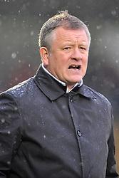 Chris Wilder Manager Northampton Town, Northampton Town v Barnet FC, Sixfields Stadium, Sky Bet League Two, Saturday 2nd January 2016, Score 3-0 (Hoskins,Holmes, Richards)