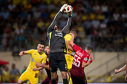 Aleksandr Belenov of FC Ufa during 2nd Leg football match between NK Domzale and FC Ufa in 2nd Qualifying Round of UEFA Europa League 2018/19, on August 2, 2018 in Sports Park Domzale, Domzale, Slovenia. Photo by Urban Urbanc / Sportida