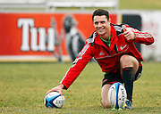 Dan Carter during Crusaders Training, Super Rugby, Rugby Union. Held at Rugby Park, Christchruch. Wednesday 25 January 2012. Joseph Johnson/photosport.co.nz