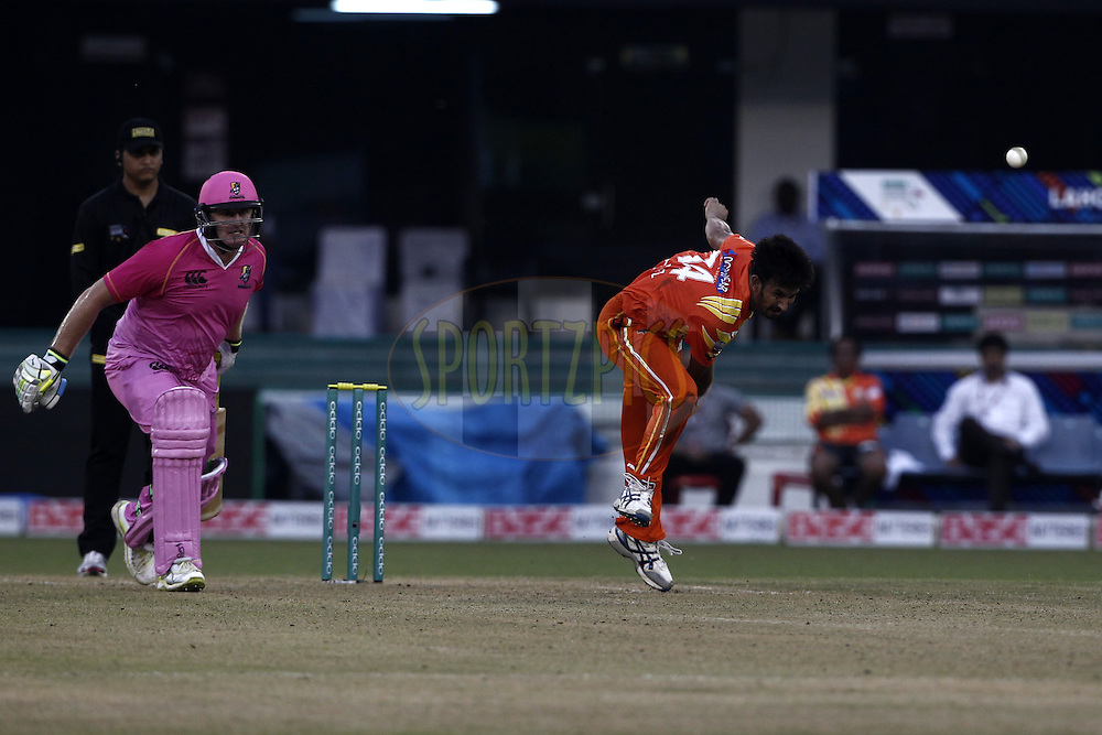 Aizaz Cheema of the LAHORE LIONS during the qualifier 3 match of the Oppo Champions League Twenty20 between the Northern Knights and the Lahore Lions held at the Chhattisgarh International Cricket Stadium, Raipur, India on the 14th September 2014<br /> <br /> Photo by:  Deepak Malik / Sportzpics/ CLT20<br /> <br /> <br /> Image use is subject to the terms and conditions as laid out by the BCCI/ CLT20.  The terms and conditions can be downloaded here:<br /> <br /> http://sportzpics.photoshelter.com/gallery/CLT20-Image-Terms-and-Conditions-2014/G0000IfNJn535VPU/C0000QhhKadWcjYs