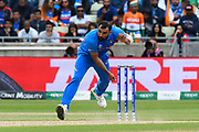 Mohammed Shami of India bowling during the ICC Cricket World Cup 2019 match between Bangladesh and India at Edgbaston, Birmingham, United Kingdom on 2 July 2019.