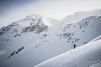 Bryce Astill in the San Juan Mountains, Colorado.