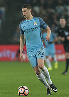 Football - 2016 / 2017 FA Cup - Third Round: West Ham United vs. Manchester City <br /> <br /> John Stones of Manchester City  at The London Stadium.<br /> <br /> COLORSPORT/DANIEL BEARHAM
