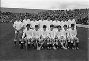 06/09/1970<br /> 09/06/1970<br /> 06 September 1970<br /> All Ireland Minor Hurling Final Cork v Galway at Croke Park, Dublin. The Galway team.