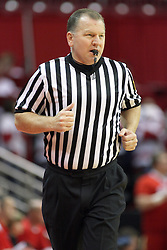 16 December 2012:  Referee Terry Wymer during an NCAA men's basketball game between the Morgan State Bears and the Illinois State Redbirds (Missouri Valley Conference) in Redbird Arena, Normal IL