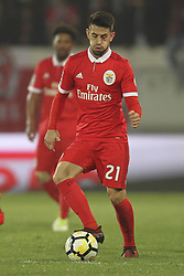 November 5, 2017 - Guimaraes, Guimaraes, Spain - Benfica's Portuguese midfielder Pizzi during the Premier League 2017/18 match between Vitoria SC and SL Benfica, at Dao Afonso Henriques Stadium in Guimaraes on November 5, 2017. (Credit Image: © Dpi/NurPhoto via ZUMA Press)