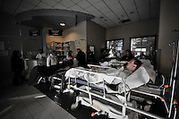 """Urgencies on strike.<br /> Too many sick people, not enough staff...<br /> Welcome in the """"best department hospital in the world""""."""