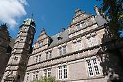 VERWENDUNG NUR REDAKTIONELL UND IN POSITIVEM KONTEXT., Schloss Haemelschenburg, Weserrenaissance, Weserbergland, Niedersachsen, Deutschland.| .Schloss Haemelschenburg, Weserbergland, Lower Saxony, Germany.