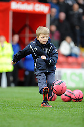 half time competition - Photo mandatory by-line: Dougie Allward/JMP - Tel: Mobile: 07966 386802 15/02/2014 - SPORT - FOOTBALL - Bristol - Ashton Gate - Bristol City v Tranmere Rovers - Sky Bet League One